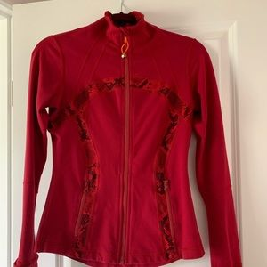 Lululemon Define Jacket Size 6 Cranberry Red